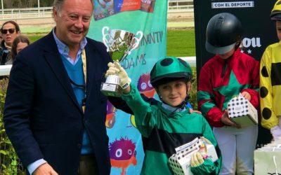 Laura Griñán gana la primera carrera del PonyTurf