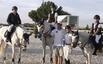 Éxito de PHR Jumping Team en Codorniz