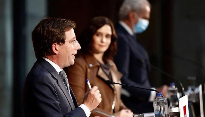 Ayuntamiento y Comunidad de Madrid abogan por promover el deporte contra la pandemia