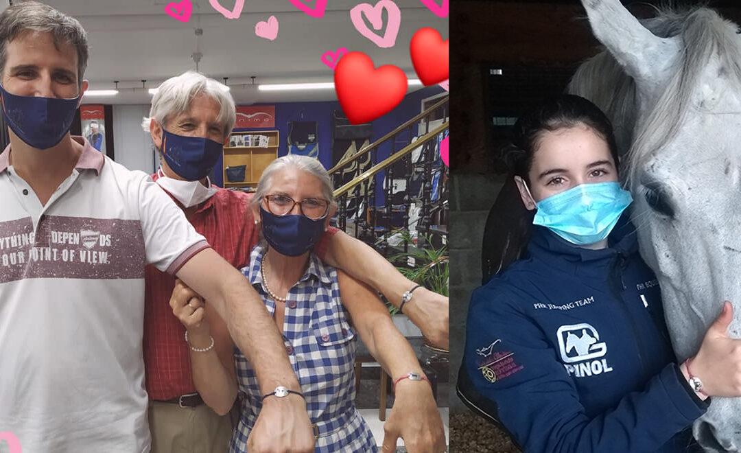 Este año regala sonrisas con la pulsera solidaria de Galopes contra el cáncer