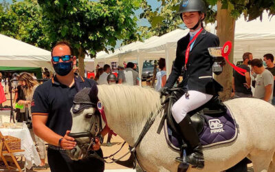 Campeonato de Ponis de la Comunidad de Madrid: Laura Griñán Bronce